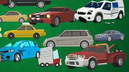 illustration of junk cars sold in denver